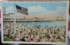 Atlantic City New Jersey Steeplechase Pier Vintage