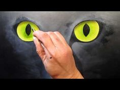 How to paint a cat: the work of the eyes (2/2)