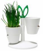 Herb Stand Flowerpot - Aromatic herb garden with scissors by Normann Copenhagen