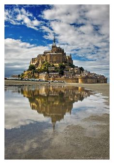 Mont St Michel in France