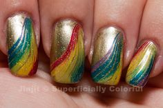 I'm kind of obsessed with this design. It reminds me of one of the galaxy world in Mario Cart! lol