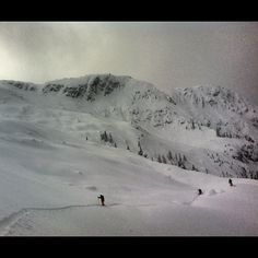 This is why ... we follow our dreams. (Pemberton, BC backcountry)