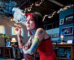 Tattoo And Cigar Life-Cigar&Fashion Every Time