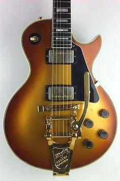 1982 Gibson Les Paul Custom Goldburst: