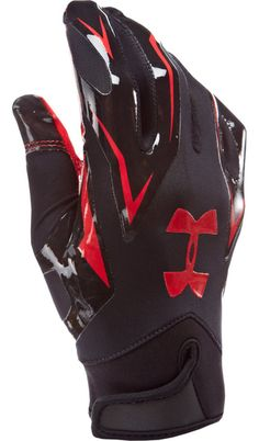 Under Armour Outlet Football Gloves and Girdles Football Equipment, Men's Football, Sports Equipment, Under Armour Outlet, Under Armour Men, Football Accessories, Running Accessories, Cool Football Gloves, Motorcycle Gloves