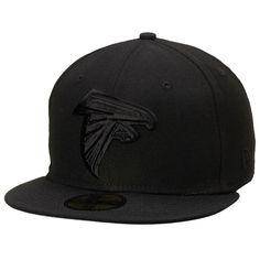 hot sales 8d966 1ca69 Atlanta Falcons New Era Tonal 59FIFTY Fitted Hat - Black Atlanta Falcons,  Nfl, Baseball