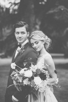 Romantic Marsala + Berry Wedding Inspiration