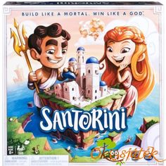 Spin Master Games Santorini Strategy-Based Board Game - 6039848 for sale online Family Boards, Family Board Games, Family Game Night, Strategy Games, Paw Patrol, Games To Play, Spinning, Card Games, Board Games
