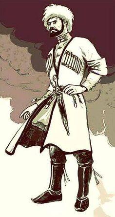 Circassian Folk Dance, My Land, Illustrations And Posters, Military History, Georgian, Art History, Embroidery Patterns, Character Art, Digital Art