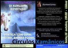 CÍRCULO XAMÂNICO - PRÁTICAS COM OS ALIADOS ESPIRITUAIS - 16-10-2015
