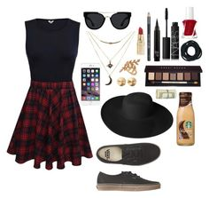"""""""A day in town"""" by ahriraine ❤ liked on Polyvore featuring NARS Cosmetics, Barry M, Quay, Charlotte Russe, Allurez, Bobbi Brown Cosmetics, Essie, Eddie Borgo, Dorfman Pacific and Forever 21"""