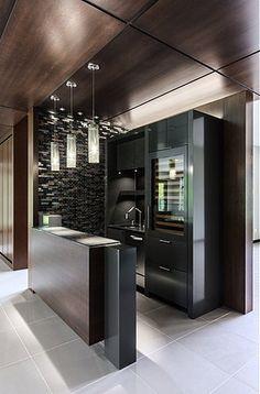 Home Bar Rooms, Home Bar Areas, Home Bar Decor, Mini Bar At Home, Bars For Home, Modern Home Bar Designs, Game Room Bar, Ultra Modern Homes, Kitchen Modular