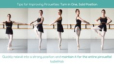 tips for improving pirouettes maintain position solid