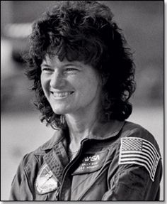 Sally Ride announced as first woman astronaut: April 19, 1982.  Ms. Ride passed away 07/23/12 after a 17 month battle with pancreatic cancer.