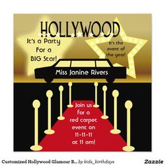 einladungskarten 50 geburtstag hollywood star. Black Bedroom Furniture Sets. Home Design Ideas
