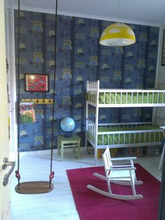 - Boys room now. Rocking Chair, Kids Room, Homes, Decorations, Wallpapers, Spaces, Retro, Children, Pictures