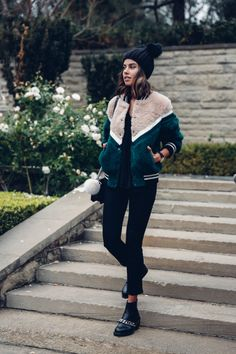 Very Cute Fall / Winter Outfit. This Would Look Good Paired With Any Shoes. - Street Fashion, Casual Style, Latest Fashion Trends - Street Style and Casual Fashion Trends Look Fashion, Daily Fashion, Fashion Outfits, Womens Fashion, Fashion Trends, Paris Fashion, Fashion News, Looks Street Style, Looks Style
