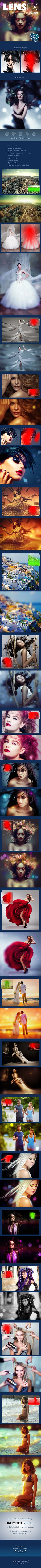Lens FX - Photoshop action to create an incredible wedding and fashion photography. #wedding #$5