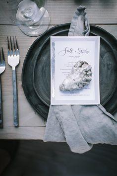 Secret Supper Salt and Stone Menus by Amy Rochelle Press