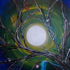 """""""Balance of All,"""" a painting done by Pagan artist Colleen Koziara."""