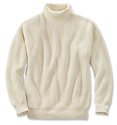 Get warmth without unnecessary bulk in a classic rib-knit sweater that's perfect… Cotton Sweater, Men Sweater, Gents Fashion, Fashion Fashion, Winter Outfits Men, Clothing Photography, Short Shirts, Knit Shirt, Well Dressed Men