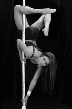 I would love to learn to pole dance...not for bad reasons. Only for good. It takes muscle, balance and grace. All three things together can be amazing!!! Plus I'm sure Chase would be impressed. LOL