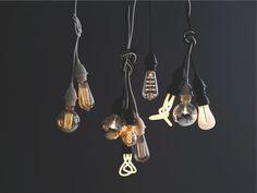 CALEX CLEAR Glass E27 40W decorative rustic clear filament lightbulb - HabitatUK