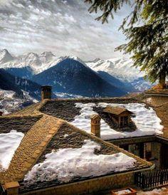 Metsovo mountainous village, Epirus, Greece