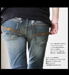 【楽天市場】【送料無料】Nudie Jeans [ヌーディージーンズ]【 Tight Long John タイトロングジョン 】レプリカ シリーズダメージ & リペアストレッチ入り スキニー デニム(097/Shawn Replica スキニー デニム):PATY