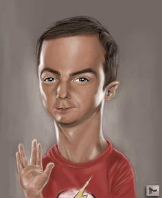 Sheldon un icono de la televisión norteamericana