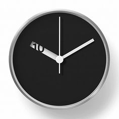 Wall Clock By: Normal Timepieces