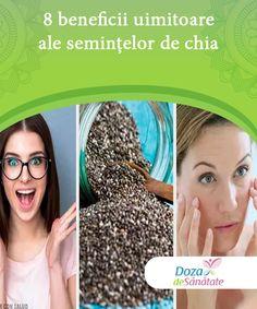 8 beneficii uimitoare ale semințelor de chia Există nenumărate beneficii uimitoare ale semințelor de chia. Acestea sunt o sursă excelentă de fibre, antioxidanți, calciu, magneziu, zinc și fosfor.