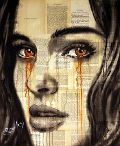 "Saatchi Art Artist darren crowley; Painting, ""To follow him (portrait)"" #art"