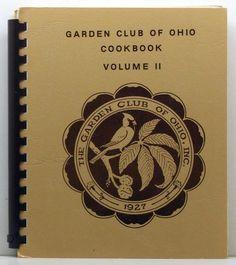Garden Club Of Ohio Inc. Cookbook Volume 2 SC/SB by ClassicOldCookbooks on Etsy