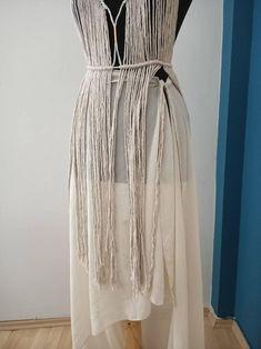 Boho Hippie, Bohemian Style, Festival Hippie, Festival Dress, Macrame Dress, Recycled Dress, Handmade Dresses, Hippy, Absolutely Stunning
