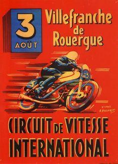 Circuit de vitesse international à Villefranche-de-Rouergues