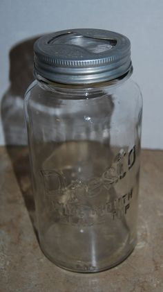 ball 1 2 gallon jars. vintage presto 1/2 gallon canning jar clear wide mouth keyhole lid owens il ball 1 2 jars