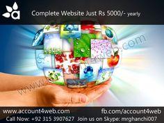 Account4WEB    Web Hosting in Pakistan.: Domain Name Registration   Web Hosting    Account4...