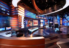 Client: CNNType: Broadcast Set/ InteriorsSize: 1800sfBudget: -Status: Completed 2006Role: Sr. Project DesignerOffice: Clickspring DesignA complete renovation and rebranding of the original CNNfn studio space included redesigning main broadcast stu…