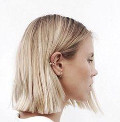 Blonde bob hair