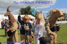 NI Countryside Festival 2013 - Moira, Irish folk theatre, children's entertainment, family entertainment, mummers, mask, myth