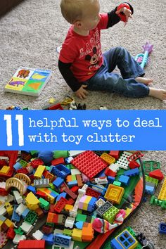 Toddler Approved!: 11 Helpful Ways to Deal with Toy Clutter