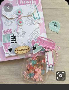 Baby Scrapbook, Scrapbook Paper Crafts, Scrapbook Albums, Pen Pal Letters, Candy Cards, Shaker Cards, Scrapbook Embellishments, Happy Planner, Diy Cards