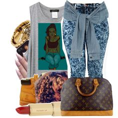 A fashion look from July 2014 featuring River Island skirts, Timberland boots and Louis Vuitton handbags. Browse and shop related looks.