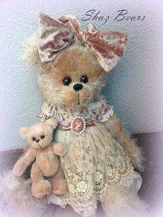 "(via Tara and Tiny by Shaz Bears ""I'm Stuffed"" 