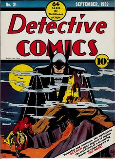 Bob Kane   Detective Comics #31   DC   1939