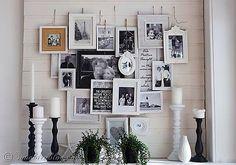 30 Ideas para decorar una habitación con fotos