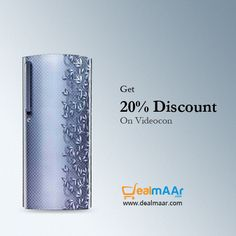 Upto 20% #discount on #videocon #homeappliances #Washingmachines #refrigerators #airconditioners