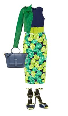 Spring green is a bright and light yellow green which is not ideal for a toned summer. Summers need soft muted and light colors. Wear spring green as a bottom. Spring green is a pretty strong color and not many of the toned summer colors went well with it. I chose a muted navy blue and true green to