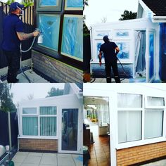Is it time you modernise that UGLY Brown conservatory for a modern, fashionable colour? Contact us on 01246 897043 we will look after You!